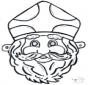 Prickingcard mask 11