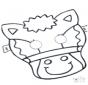 Prickingcard mask 5