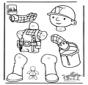 Pull-puppet Bob the Builder 1