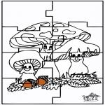 Crafts - Puzzle Autumn