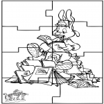 Crafts - Puzzle Bobo