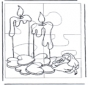 Puzzle candles