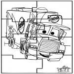 Crafts - Puzzle Cars