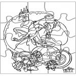 Crafts - Puzzle Cinderella