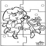 Crafts - Puzzle Dora