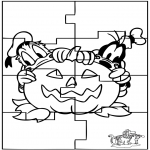 Crafts - Puzzle Halloween