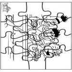 Crafts - Puzzle Sesame Street