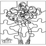 Crafts - Puzzle Winx
