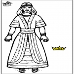 Bible coloring pages - Queen Esther 2