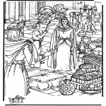 Bible coloring pages - Queen of Sheba