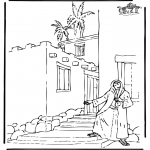 Bible coloring pages - Rachab
