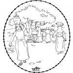 Bible coloring pages - Rebecca 1