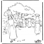 Bible coloring pages - Rebecca 2