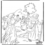 Bible coloring pages - Ruth 1