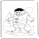 Kids coloring pages - Sesame streat 4