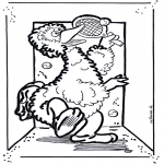 Kids coloring pages - Sesame street 1