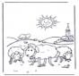 Sheep in the sunshine