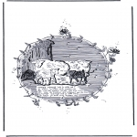 Animals coloring pages - Sheep