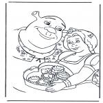 Comic Characters - Shrek 2