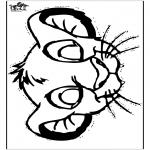 Crafts - Simba mask