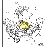 Kids coloring pages - Sleep 2