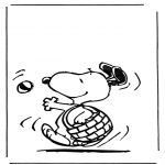 Comic Characters - Snoopy 1