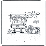 Kids coloring pages - SpongeBob 2