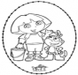 Stitchingcard Dora