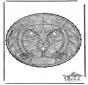 Stitchingcard lion