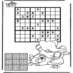 Crafts - Sudoku Airplane
