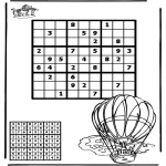 Crafts - Sudoku balloon