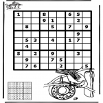 Crafts - Sudoku bird