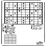 Crafts - Sudoku Cars