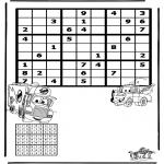 Crafts - Sudoku Cars