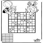 Crafts - Sudoku dalmatians