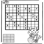 Crafts - Sudoku girl