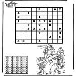 Crafts - Sudoku horseriding