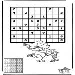Crafts - Sudoku ice skating