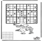 Sudoku ice skating