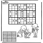 Crafts - Sudoku Jip and Janneke