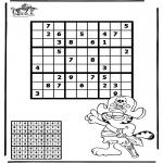 Crafts - Sudoku pirate