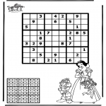 Crafts - Sudoku snow white