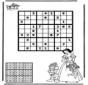Sudoku snow white