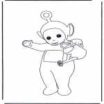 Kids coloring pages - Teletubbies 2