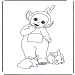 Kids coloring pages - Teletubbies 5