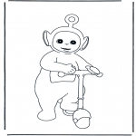 Kids coloring pages - Teletubbies 6