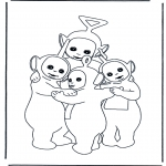 Kids coloring pages - Teletubbies 7