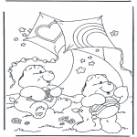 Kids coloring pages - The Care Bears 1
