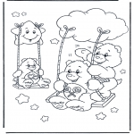 Kids coloring pages - The Care Bears 13
