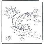 Kids coloring pages - The Care Bears 2